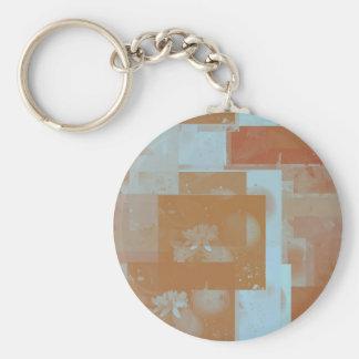 orange blossom fantasy original art basic round button keychain