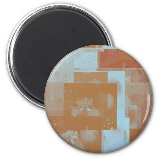 orange blossom fantasy original art fridge magnets