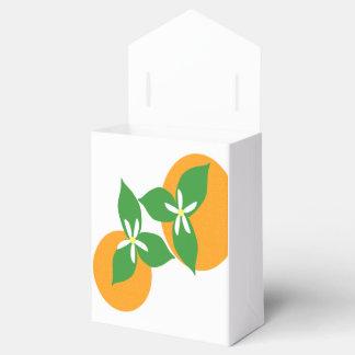 Orange Blossom Favor Boxes