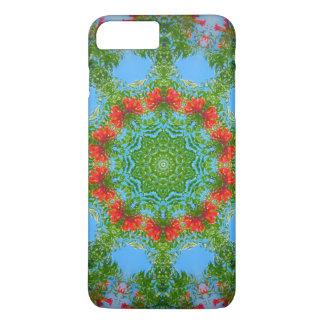 Orange Blossom Kaleidsocope iPhone 7 Plus Case