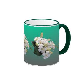 Orange Blossom Ringer Mug