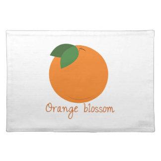 Orange Blossom Cloth Place Mat