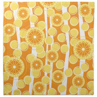 Orange Blossom Special Cloth Napkin