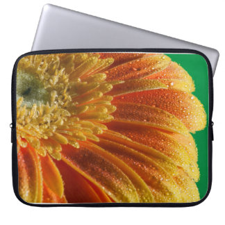 Orange Blossom with colorful petals Laptop Sleeve