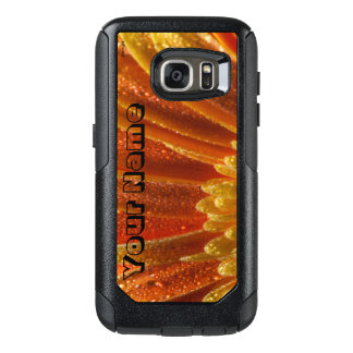 Orange Blossom with colorful petals OtterBox Samsung Galaxy S7 Case