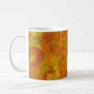 Orange Blossoms Basic White Mug