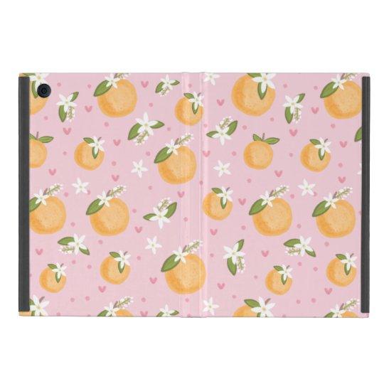 Orange Blossoms Cases For iPad Mini