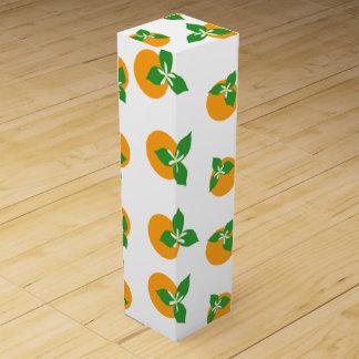 Orange Blossoms Wine Gift Box