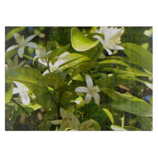 ORANGE BLOSSOMS FROM FLORIDA Cutting Board