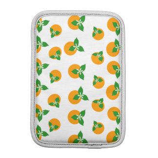 Orange Blossoms iPad Mini Sleeves