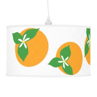 Orange Blossoms Hanging Lamps