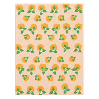 Orange Blossoms Tablecloth