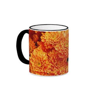 Orange Blossoms Ringer Mug