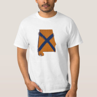 Orange & Blue - State of AL T Shirts