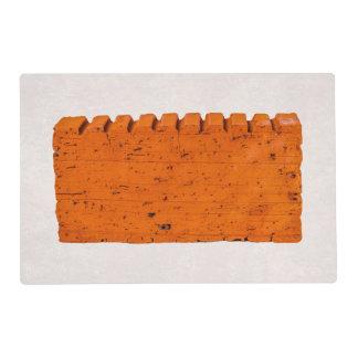 Orange Brick - Atom Of Creation Laminated Placemat