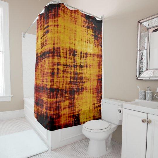 Orange Brown Abstract Grunge Texture