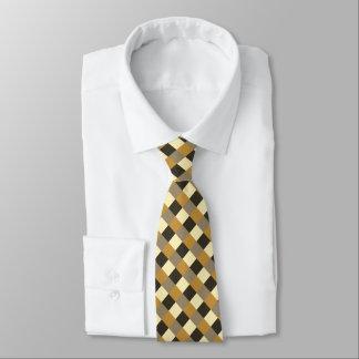 Orange Brown Chocolate Beige Cream Tan Tie