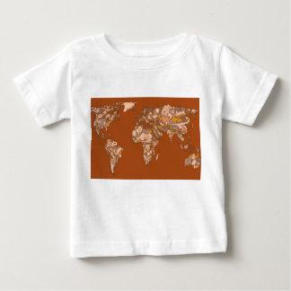 Orange brown mother earth t shirt