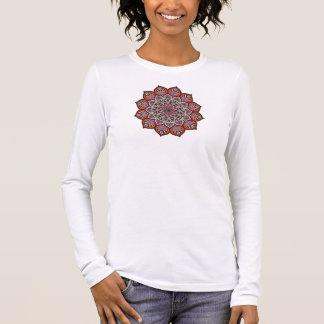 Orange Brown Pink Earthy Glittery T-Shirt