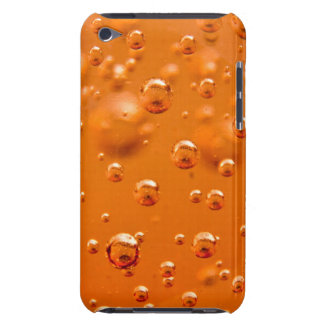 Orange bubbles barely there iPod case
