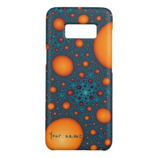 Orange bubbles Case-Mate samsung galaxy s8 case
