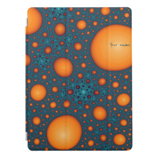 Orange bubbles iPad pro cover