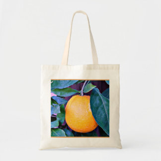 """Orange"" Budget Tote Bag"