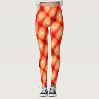 Orange Burst Leggings