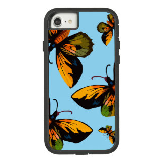 Orange Butterfles Blue Sky Case-Mate Tough Extreme iPhone 8/7 Case
