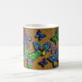 Orange Butterfly Rug mug