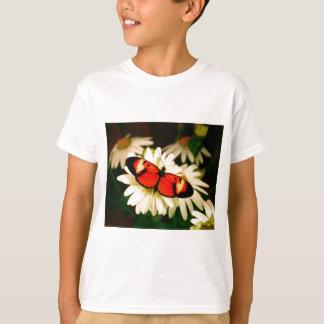 Orange Butterfly T-Shirt