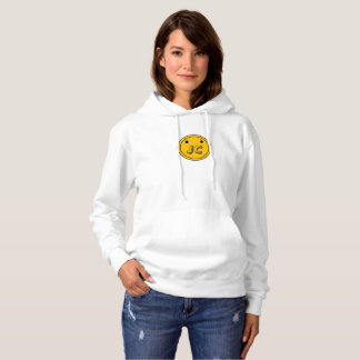 Orange Button Bash Hoodie