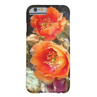 orange cactus blossoms barely there iPhone 6 case