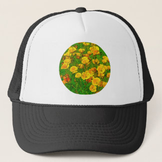 Orange California Poppies 2.2_rd Trucker Hat