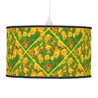 Orange California Poppies 2.2.y Pendant Lamp