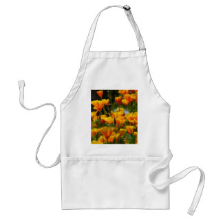 Orange California Poppies_3.1 Standard Apron