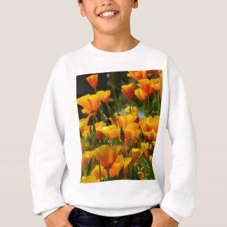 Orange California Poppies_3.1 Sweatshirt