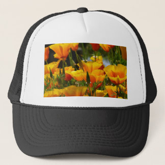 Orange California Poppies_3.1 Trucker Hat