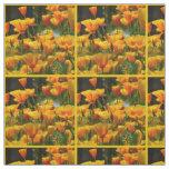 Orange California Poppies_3.3.y Fabric