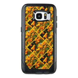 Orange California Poppies_3.3.y OtterBox Samsung Galaxy S7 Edge Case