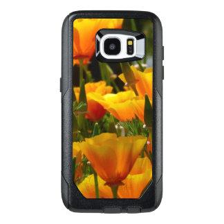 Orange California Poppies OtterBox Samsung Galaxy S7 Edge Case