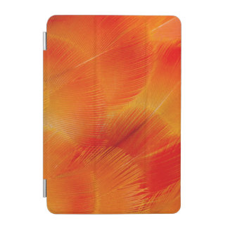 Orange Camelot Macaw Feather Abstract iPad Mini Cover
