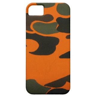 Orange Camo case for iPhone 5
