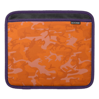 Orange Camo iPad Sleeve