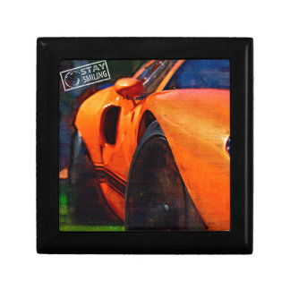 Orange Car Painting Gift Box