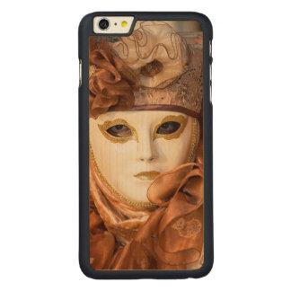 Orange Carnival costume, Venice Carved® Maple iPhone 6 Plus Case