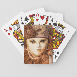 Orange Carnival costume, Venice Playing Cards
