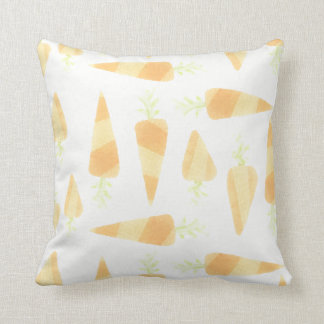 Orange Carrots Pillow