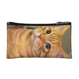 Orange Cat Carry -All Bag Makeup Bag
