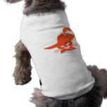 Orange Cat Dog Shirt